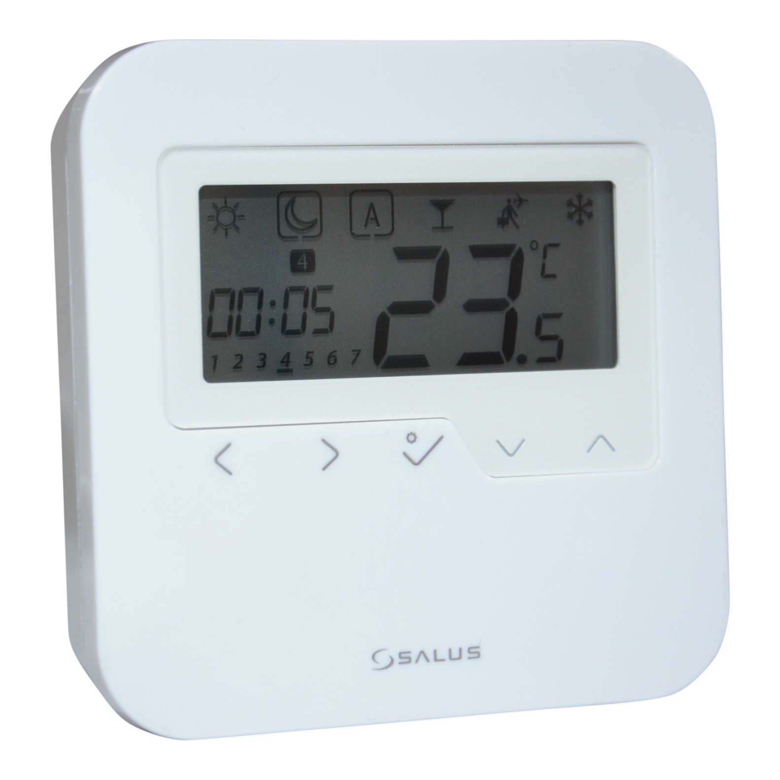 Salus HTRP230 digital Raumthermostat Fußbodenheizung LCD Raumregler Thermostat